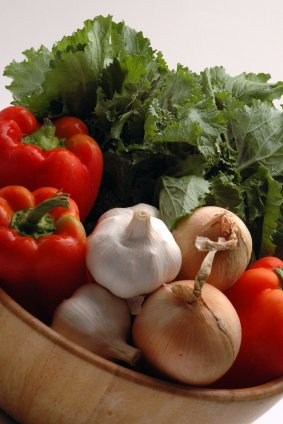 Vegetables including colorful along with those of the allium family are anti-inflammatoryl