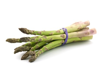 Folic acid is important for good health. Green leafy veg including asparagus are good dietary sources.