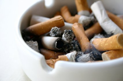 Smoking decreases stores of vitamin C