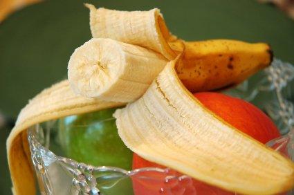 Bananas are a good source of potassium